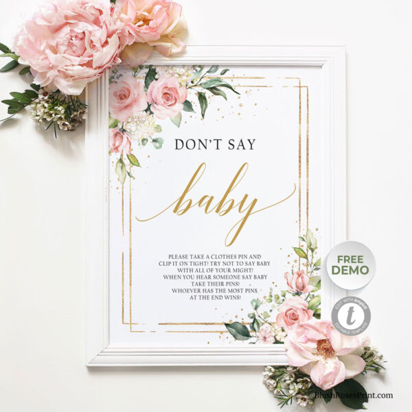 blush-pink-floral-dont-say-baby-game-sign-template