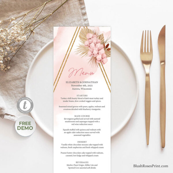 blush-pink-orchid-and-dried-palm-weddig-menu-template-or-printed