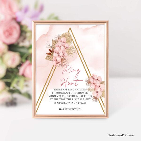 bridal-shower-ring-hunt-game-sign-template