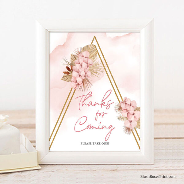 dried-palm-blush-pink-orchid-thanks-for-coming-sign-template