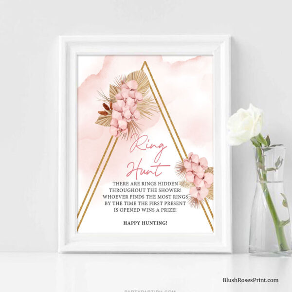 dried-palm-leaves-dusty-pink-orchid-flowers-gold-arch-game-sign