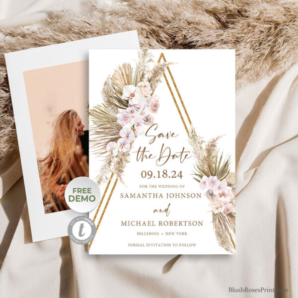 dried-palm-leaves-pampas-grass-reeds-blush-pink-orchid-dusty-rose-save-the-date