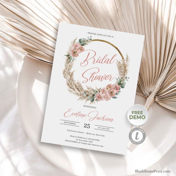 dried-pampas-grass-wreath-dusty-rose-orchid-green-eucalyptus-bridal-shower