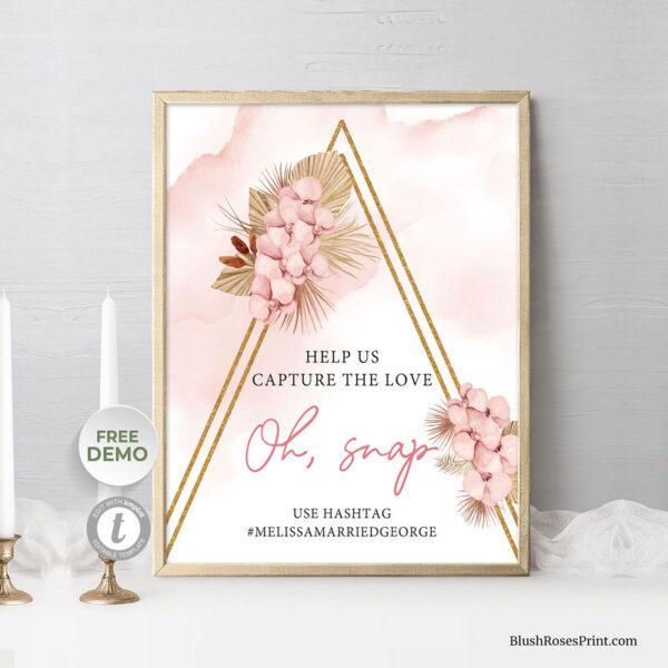editable-in-loving-memory-sign-template