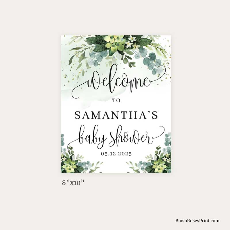 green-and-gold-baby-shower-welcome-sign-8x10