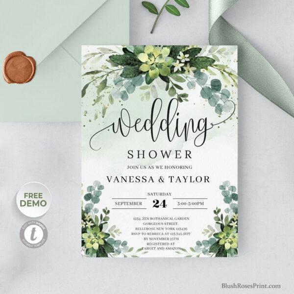 green-and-gold-wedding-shower-invitation-digital