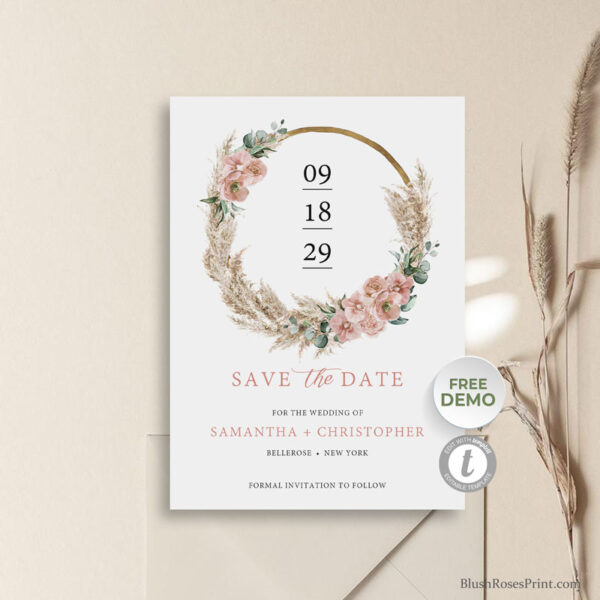 pampas-grass-dusty-pink-rose-orchid-greenery-eucalyptus-foliage-wodden-ring