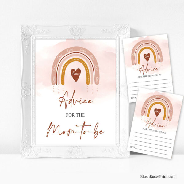 trendy-boho-rainbow-advice-for-the-mom-to-be-sign-template