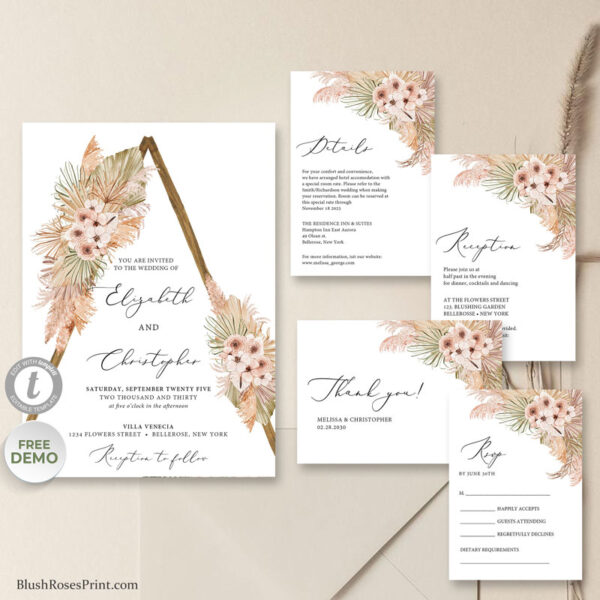 desert-dried-palm-leaves-pampas-grass-dusty-pink-orchid-wedding-invitation-template