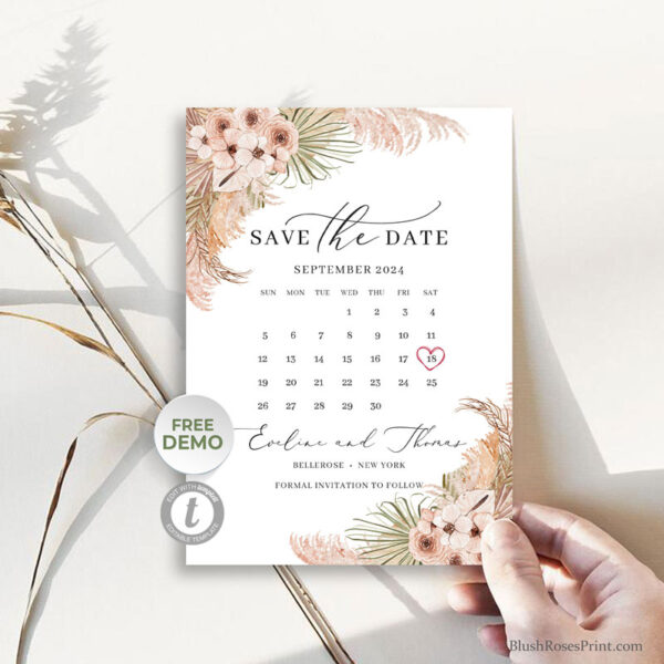 dried-floral-dusty-rose-blush-orchid-save-the-date-template