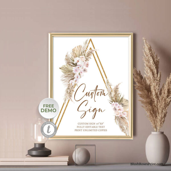 dried-palm-pampas-grass-reeds-blush-orchid-dusty-rose-custom-sign-template