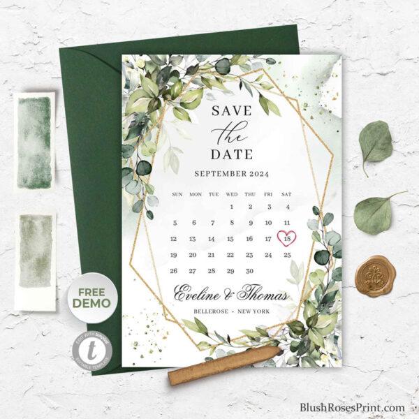 greenery-foliage-eucalyptus-save-the-date-card-template