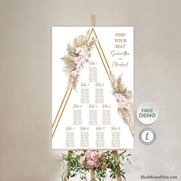 rustic-arched-desert-flowers-wedding-seating-chart-digital