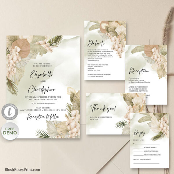 summer-tropical-flowers-dried-palm-leaves-wedding-templates