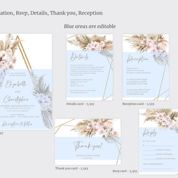 trendy-boho-tropical-dried-flowers-wedding-bundle-printable