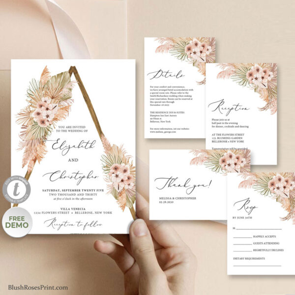 tropical-dried-flowers-desert-pink--roses-dusty-pink-orchid-wedding-suite-template