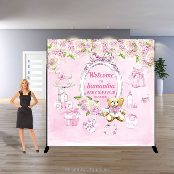 blush-pink-roses-hydrangeas-mixed-girm-teddy-beal-baby-shower-backdrop-template