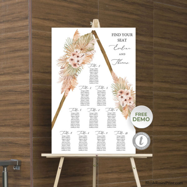 dried-palm-leaves-pampas-grass-dusty-orchid-wedding-seating-chart-template