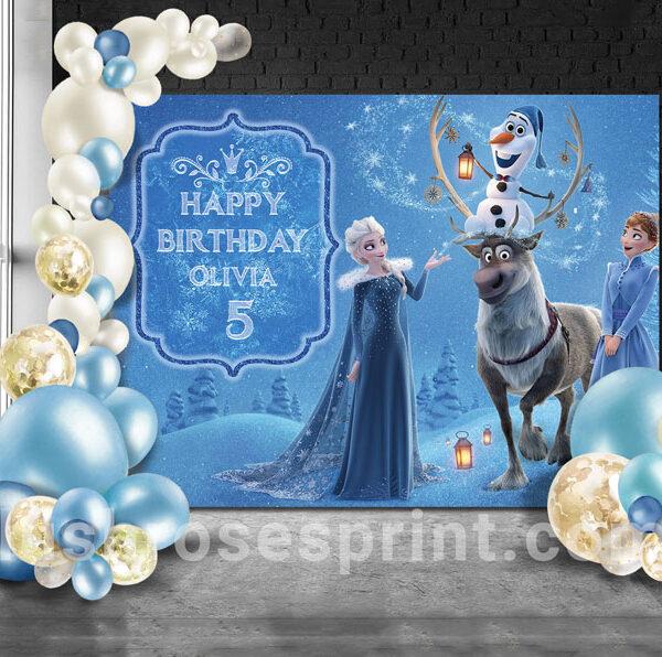 frozen-birthday-backdrop-print-Elsa-and-Anna-Disney-movie