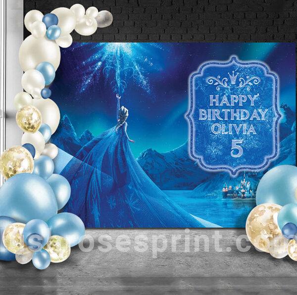 frozen-party-banner-template-printable-birthday-backdrop-frozen
