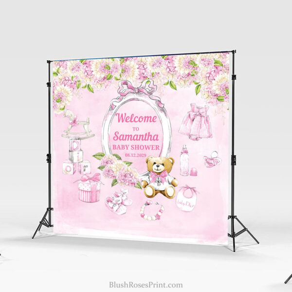 girl-baby-shower-backdrop-party-banner-template-or-print-blush-hydrangeas-printable