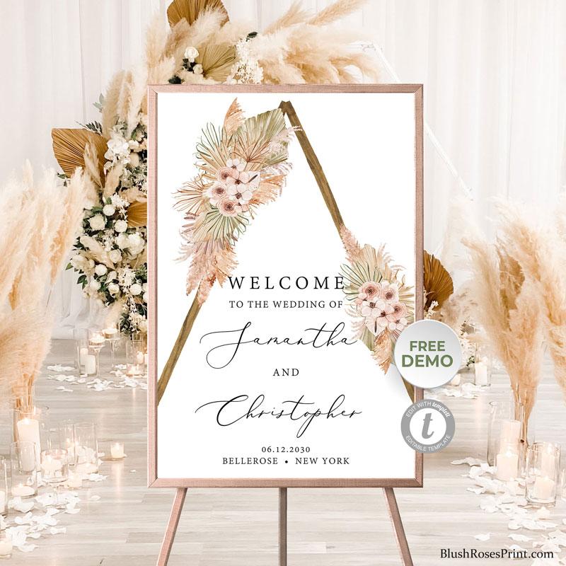 trendy-boho-tropical-beach-wedding-welcome-sign-template-editable