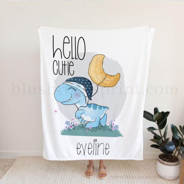 boy-baby-shower-gift-personalized-fleece-balnket-with-baby-dinosaur-1