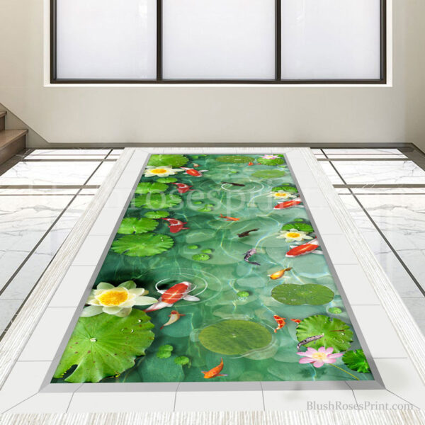 printable-3d-floor-sticker-decal-lake-with-fishes