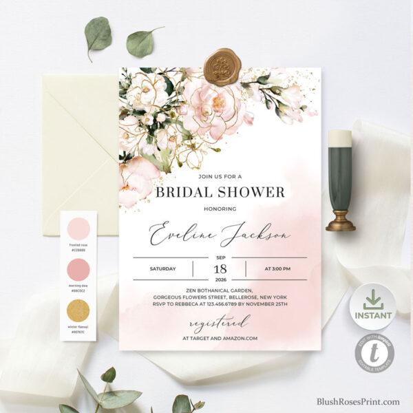 bohemian-roses-bridal-shower-invitation-editable