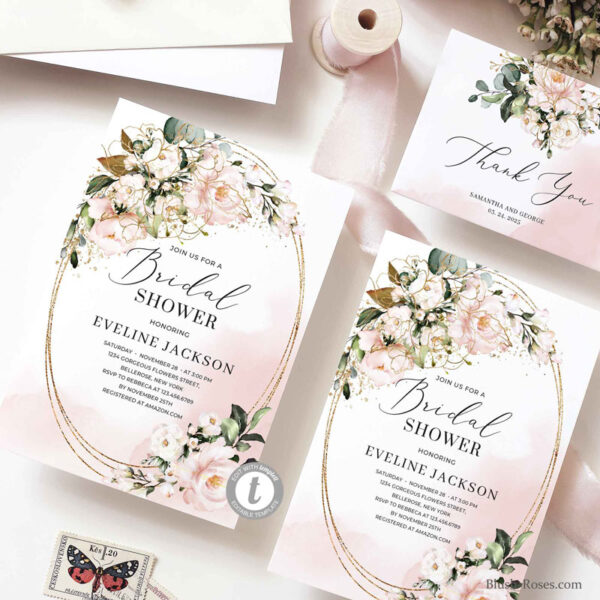 edit-yourself-bridal-shower-invitation-printable-in-rustic-style-with-dusty-pink-roses-and-gold-oval