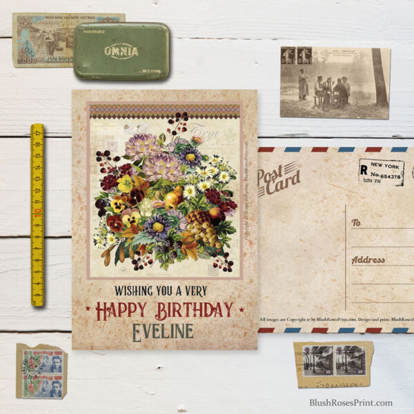 personalized-retro-greeting-card-for-birthday