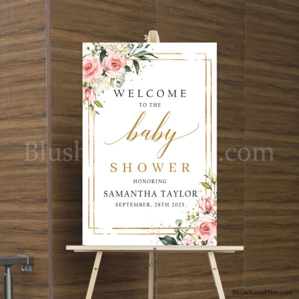 blush-and-gold-geometric-frame-baby-shower-welcome-sign-poster