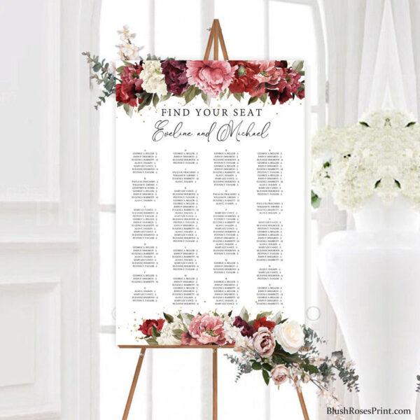 blush-burgundy-dusty-roses-blush-pink-flowers-peonies-wedding-seating-chart-poster-templates