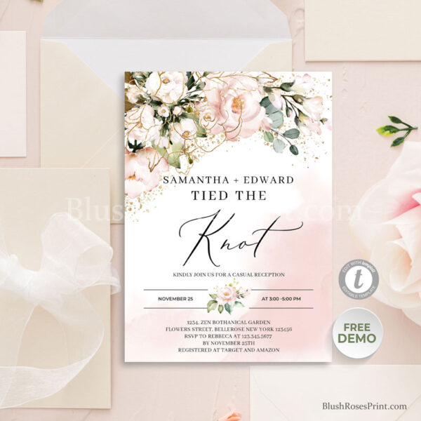 blush-floral-we-tied-the-knot-announcement-template