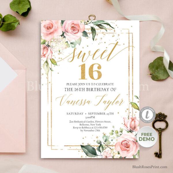 blush-pink-and-gold-glitter-sweet-sixteen-invitation-templare