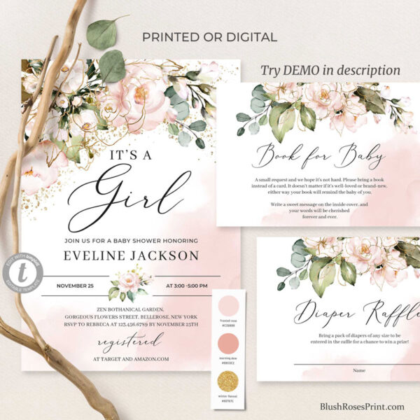 blush-pink-floral-gold-leaves-its-a-girl-baby-shower-invitation-tempalte
