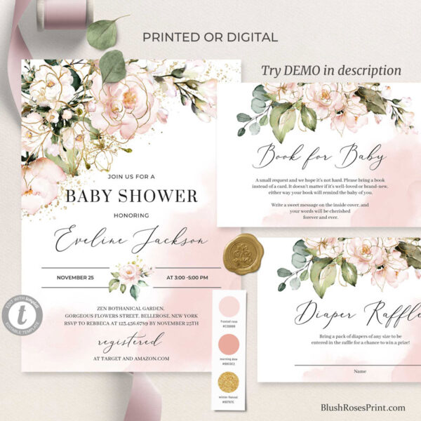blush-pink-flowers-and-gold-boho-baby-shower-invitation-template-or-printed