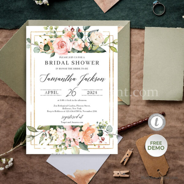 bohemian-bridal-shower-invitation-template