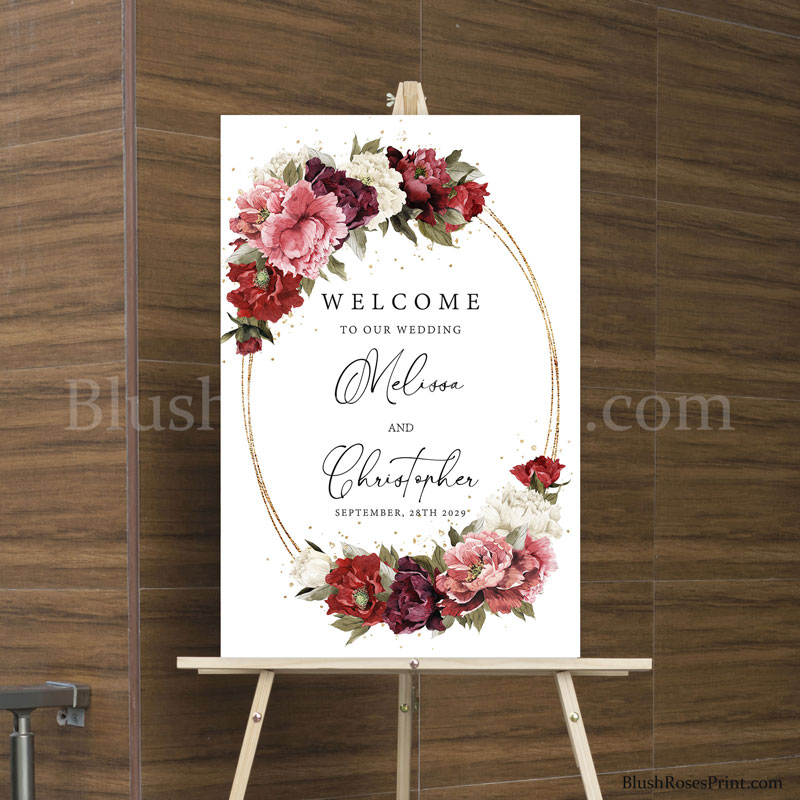 bohemian-template-for-wedding-welcome-sign-editable