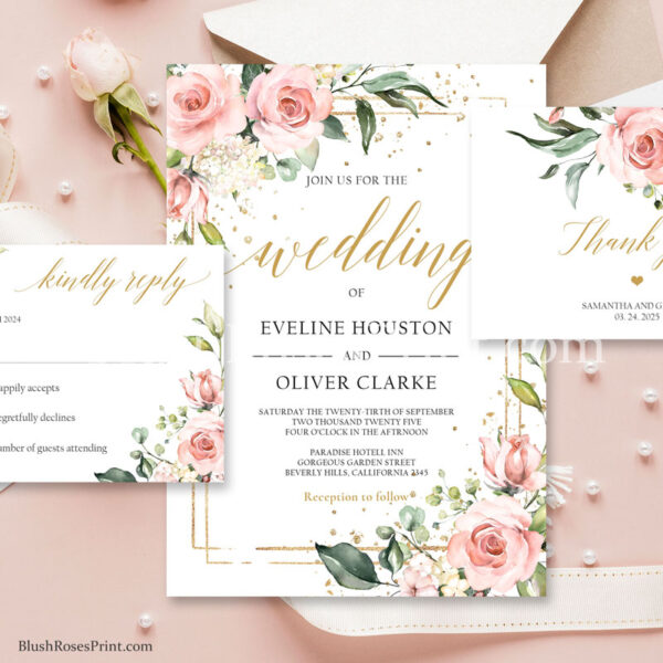 bohemian-wedding-invitation-set-with-blush-pink-roses