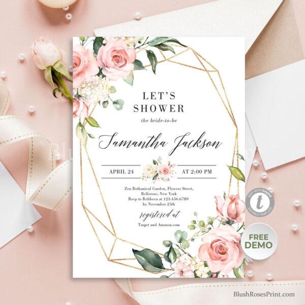 bohemian-free-bridal-shower-invitation-templates