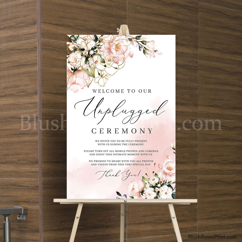 cheap-unplugged-ceremony-sign-poster-template