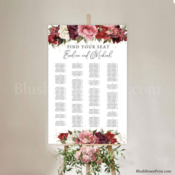 mauve-flowers-roses-peonies-wedding-seating-chart-poster-template-free