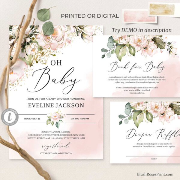 pink-and-gold-baby-shower-invitation-boho-style-printed-or-printable-template