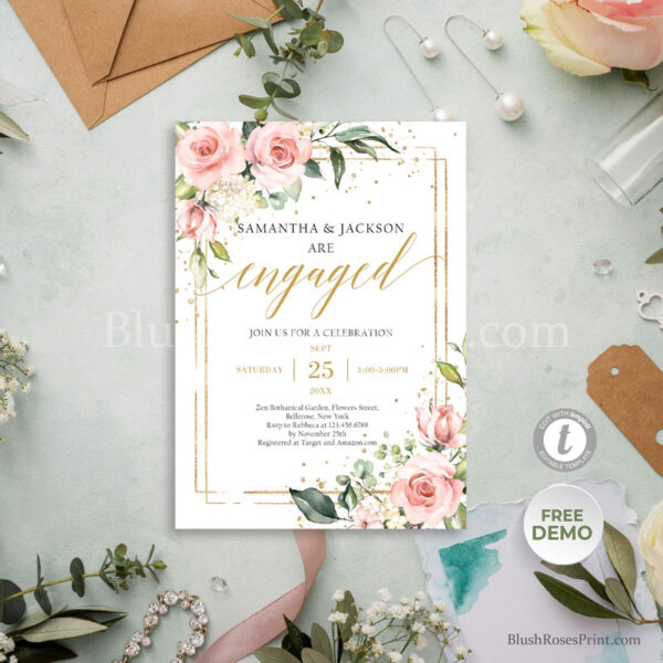 printable-engagement-invitation-with-photo-bohemian-rustic-style