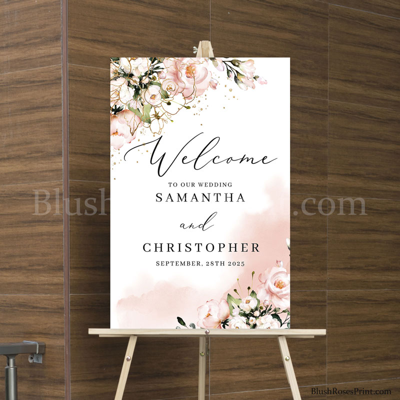rose-gold-flowers-and-rose-gold-roses-wedding-welcome-sign-template