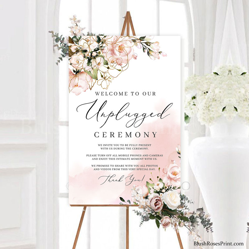 rose-gold-flowers-roses-etsy-unplugged-ceremony-sign-template
