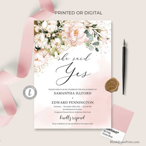 rose-gold-she-said-yes-engagement-invitation-printed-or-printable