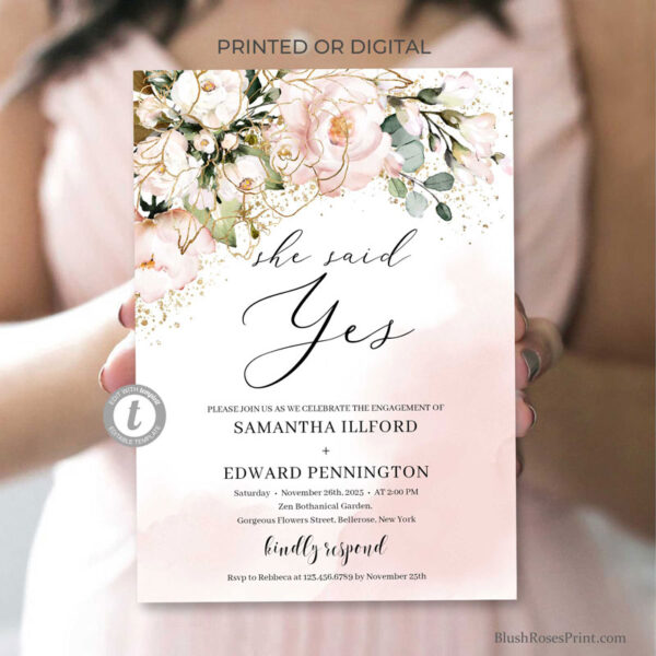 rose-gold-she-said-yes-engagement-invitation-printed-or-printable-s