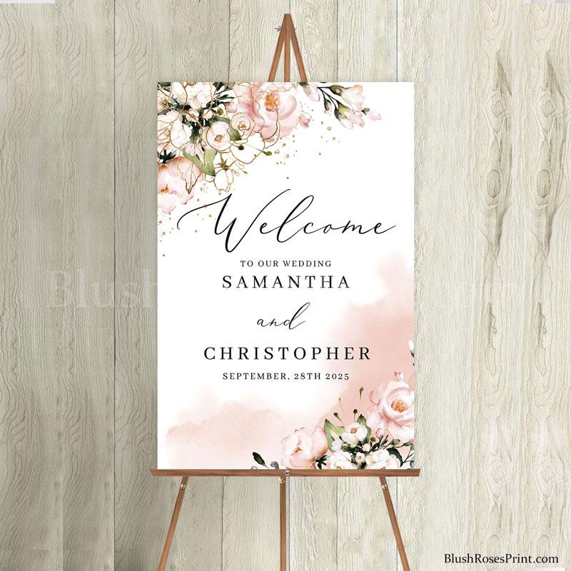 wedding-welcome-sign-easel
